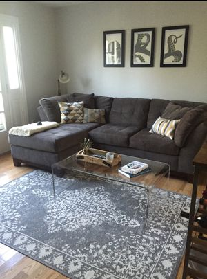 Sectional - Charcoal Gray for Sale in Washington, DC