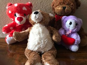 This is a set of 4 stuffed bears for Sale in Las Vegas, NV