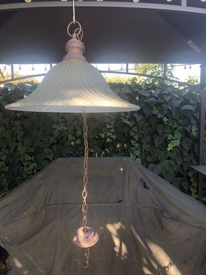 Glass Done chandelier for Sale in La Puente, CA