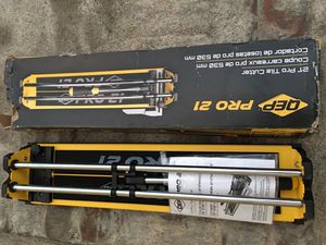 """QEP tile cutter 21""""manual brand new for Sale in Los Angeles, CA"""