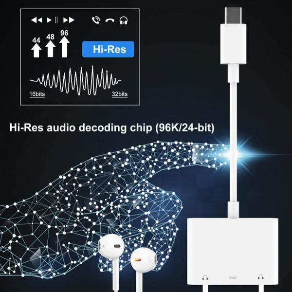 3 in 1 Audio Auxiliary Adapter