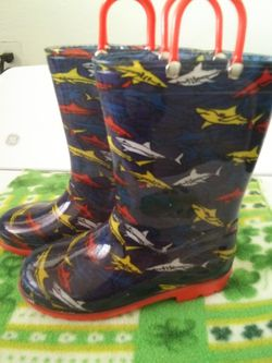 Rain boots size 12 for Sale in Lawndale,  CA