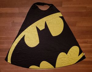 DC Batman Cape (Black and Yellow) for Sale in Albuquerque, NM