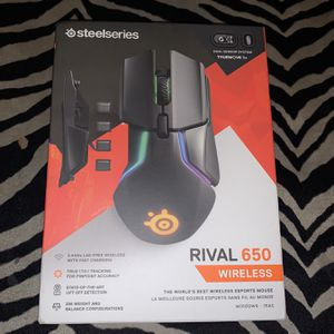 SteelSeries Rival 710 Wired rival 600 Wired And Rival 650 Wireless Gaming Mouse New Sealed for Sale in Long Beach, CA