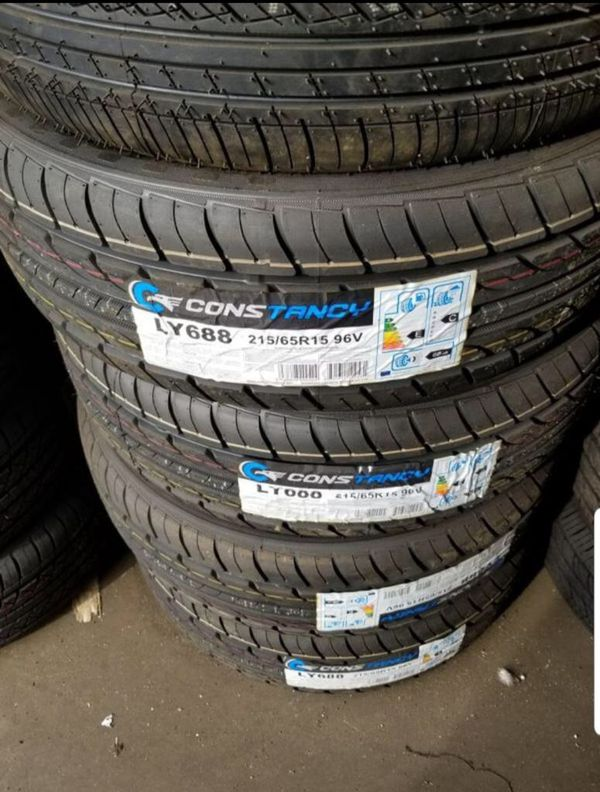 Brand new set of tires 215 65 15