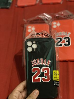 Jordan Brand new cases never used comes in a plastic bag for Sale in Detroit, MI