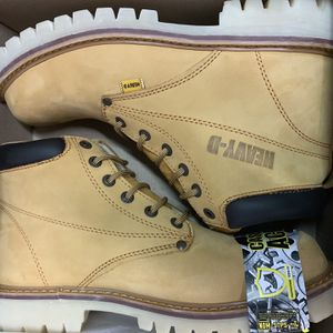 Heavy D Steel Toe Work Boots Size 9.5-10.5 for Sale in Downey, CA