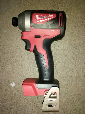 IMPACT DRILL MILWAUKEE BRUSHLESS BATTERY NOT INCLUDED for Sale in Phoenix, AZ