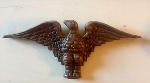 "Vintage/ Antique Wood Carved Eagle 11.5 X 5"" for Sale in Longs, SC"