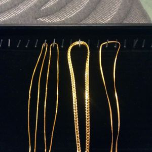 Gold Necklaces 3 for$40 for Sale in San Diego, CA