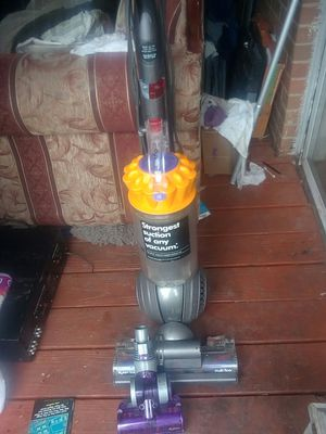 Dyson ball vacuum cleaner with two specialed ordered accessories and a dry powder dirt lifter cleaner and spray spot remover. for Sale in Oklahoma City, OK