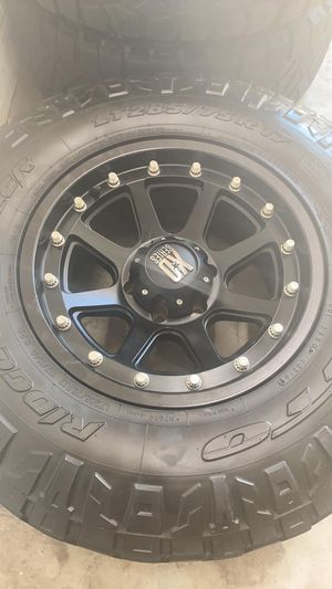 Xd 6x5.5 wheels Chevy, Toyota , Nissan for Sale in NEW PRT RCHY, FL