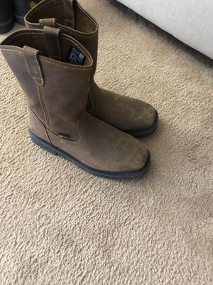 Steel toe work boots 10.5 for Sale in Franklin, WI