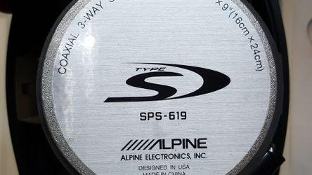 Alpine S Type SPS-619 6x9 for Sale in Houston,  TX