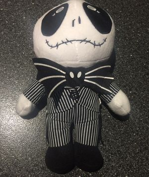 Jack skellington 10 inch plush figure from nightmare before Christmas for Sale in Queens, NY