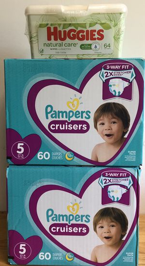Pampers Cruisers Size 5 Bundle for Sale in Denver, CO