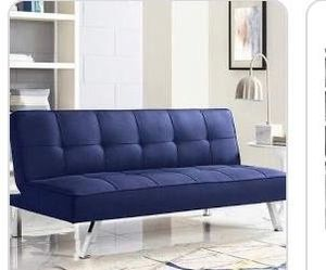 Futon blue color for Sale in Fort Worth, TX