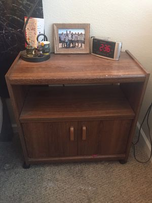 Wooden Cabinet/Nightstand for Sale in Englewood, CO