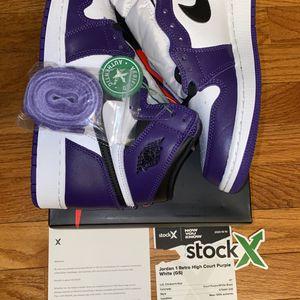 Jordan 1 Court Purple (DS) for Sale in Newington, CT
