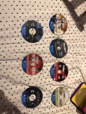 PS4 GAMES (naruto ultimate ninja storm 4 not pictured) for Sale in West Los Angeles, CA