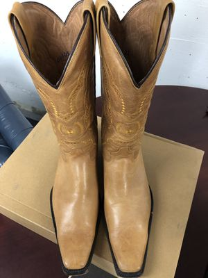 2 pairs of cowboy boots for $200 size 10 1/2 Rancho boots the other one is Texas Legacy. Botas vaqueras for Sale in Alexandria, VA