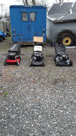 Lawn Mowers ready to work for Sale in Freehold, NJ