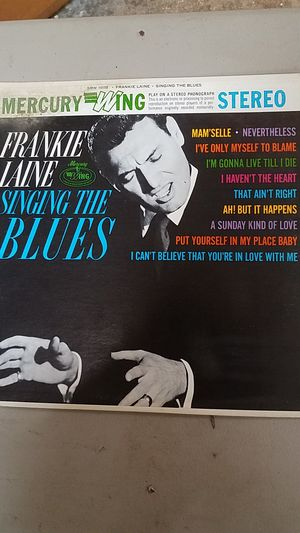 Frankie Laine singing the blues album for Sale in Joint Base Lewis-McChord, WA