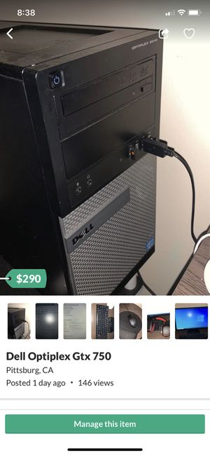 Windows 10 PC Gtx 750 Ti and more for Sale in Pittsburg, CA