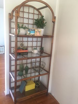 Rattan / Bamboo Etagere for Sale in Phoenix, AZ