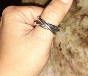 Silver ring de plata size 8 for Sale in Houston, TX