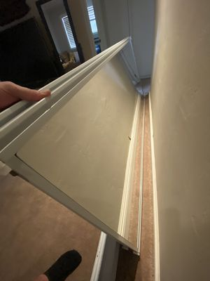 "72""x80"" sliding mirror closet doors for Sale in San Diego, CA"