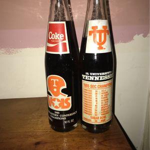 10 Oz Coke Bottle 1985 Champion Tennessee Vols for Sale in Ashland City, TN