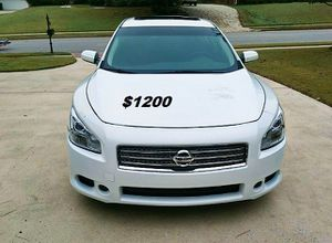 Fully Maintained$1200 I'm Selling my 2013 Nissan Maxima for Sale in Richmond, VA