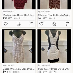 **Beautiful Name Brand Dresses $9 Perfect For Christmas or New Year!!*** for Sale in Los Angeles, CA