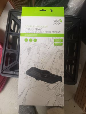 NEW Baby Jogger Double Stroller Child Tray for Sale in Atascadero, CA