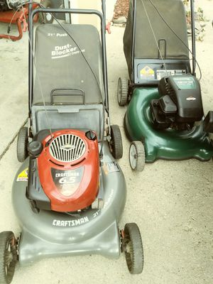 2 Lawn Mowers for Sale in Millersville, MD