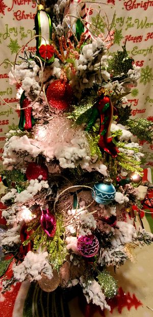 Two foot decorated Christmas tree for Sale in Smyrna, TN