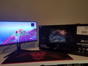 New 144hz Gaming Monitor 24 inch for Sale in Powder Springs, GA