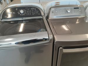 Whirlpool washer and electric dryer Kenmore good condition with 90 days warranty for Sale in Mount Rainier, MD