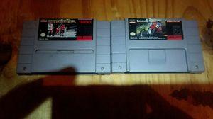 Original Super Nintendo games and controller for Sale in Chicago, IL