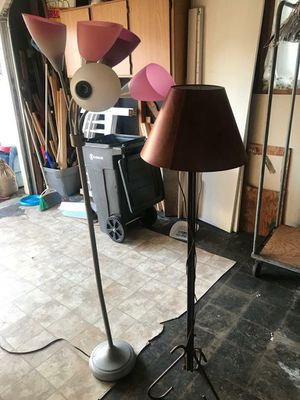 Two floor lamps for Sale in Seattle, WA