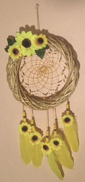 Handmade Sunflower Wreath Dreamcatcher for Sale in Wichita, KS