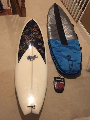 Allison hand crafted surfboard for Sale in Wake Forest, NC