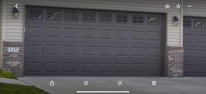 Double garage door for Sale in Knightdale, NC