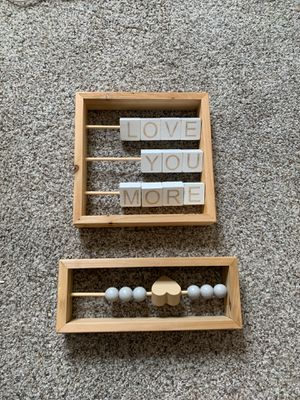 Hobby Lobby Baby Room Decor Minimalist for Sale in Puyallup, WA