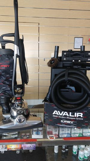 Kirby Avalir self-propelled with standard attachments and carpet shampooer for Sale in Independence, MO