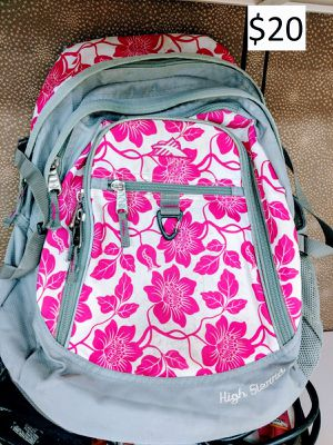High Sierra backpack school travel sports pink floral flower for Sale in New York, NY