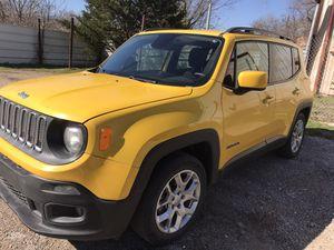 2015 jeep renegade 2.4 rebuilt title for Sale in Dallas, TX