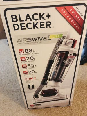 Black and decker air swivel vacuum for Sale in Middletown, NJ