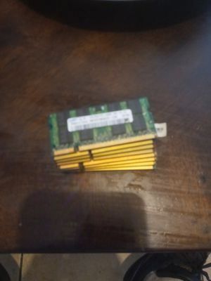 8 laptop Ram chips. 5 pc2 and 3 pc3 assorted. for Sale in Clearwater, FL